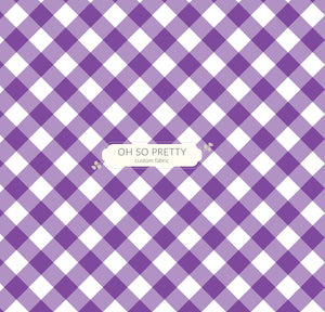 Preorder Summer Essential Purple Gingham