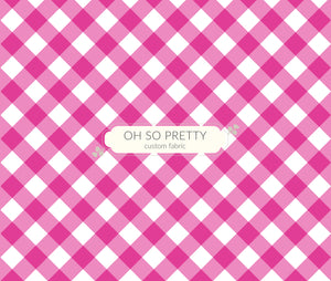 Preorder Summer Essential Pink Gingham