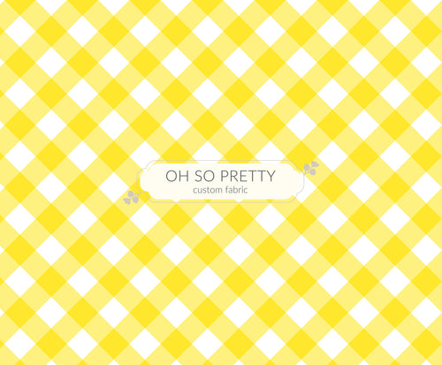 Retail Summer Essential Yellow Gingham