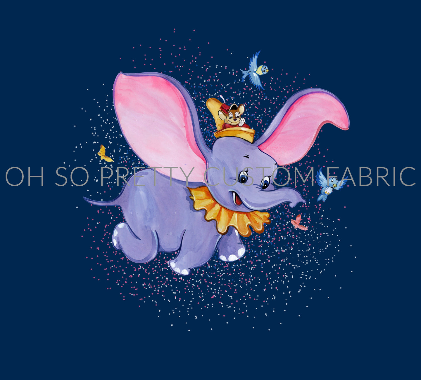 CATALOG - PREORDER R42 - The Flying Elephant - Panel - Navy