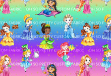 Retail Colorful Princess Main