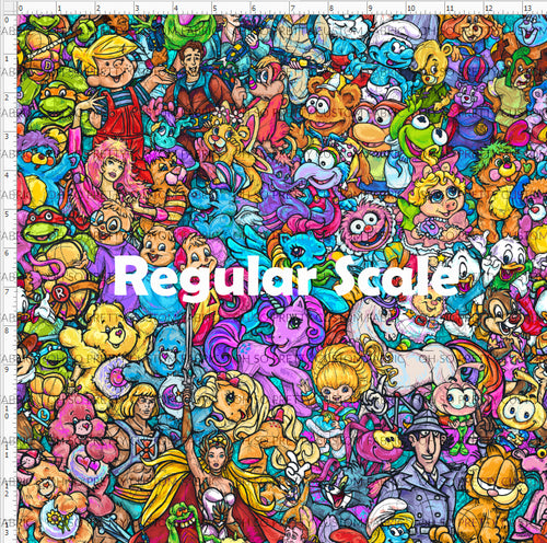 Retail 80's Throwback - Main - Regular Scale