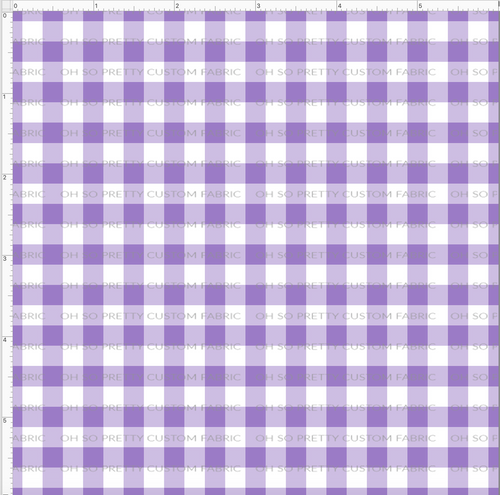 CATALOG R31 - Strawberry Kids  - Small Purple Gingham