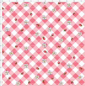 CATALOG PREORDER R31 - Strawberry Kids  - Pink Gingham