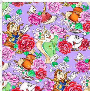 CATALOG - PREORDER R42 - The Rose - Purple Background Characters - SMALL SCALE