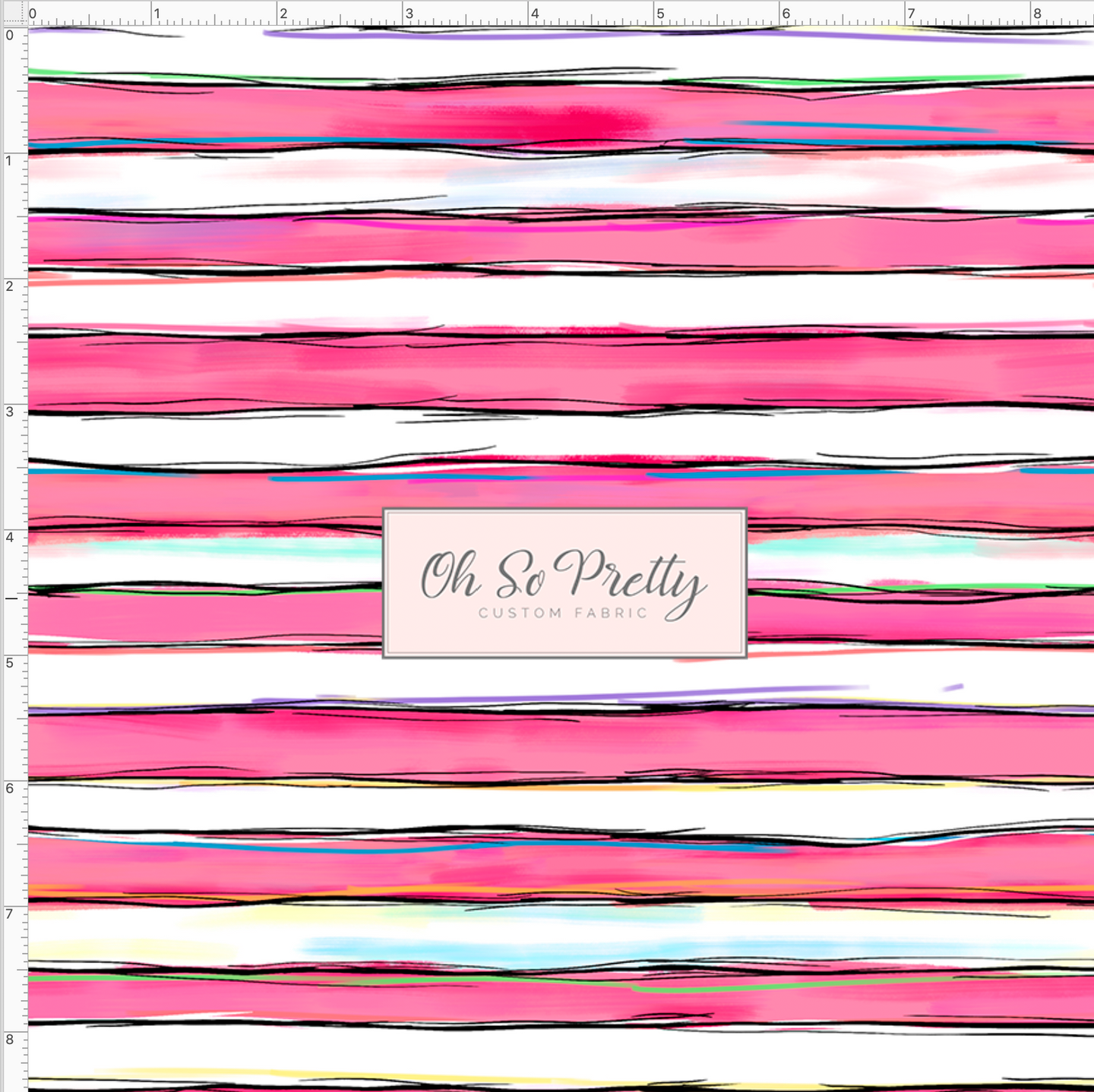 CATALOG - PREORDER R42 - Soar - Pink and White Stripe