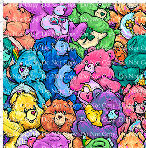 CATALOG - PREORDER R43 - 80s Throwback - Colorful Bears - REGULAR SCALE 8X8