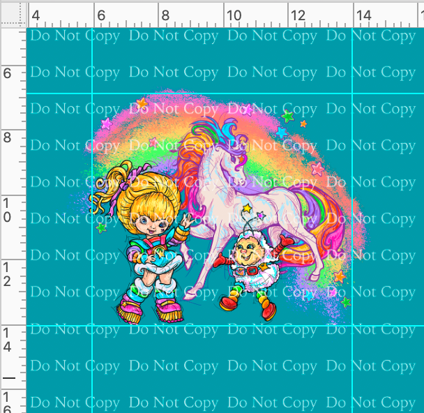 CATALOG R43 - 80s Throwback - Rainbow Unicorn - Panel
