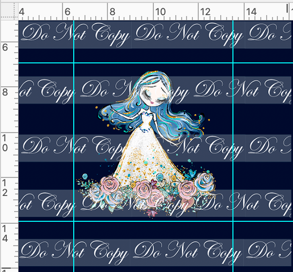 Retail Whimsical Bride  - Bride Panel - Navy