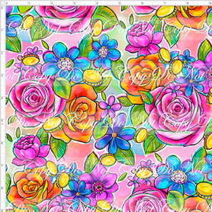 CATALOG - PREORDER R45 - Sherwood Forest - Floral - LARGE SCALE