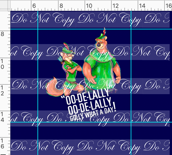 CATALOG - PREORDER R45 - Sherwood Forest - Panel - Oodelally
