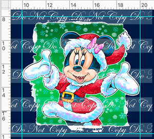CATALOG - PREORDER R46 - Christmas Sweater - Minnie Panel