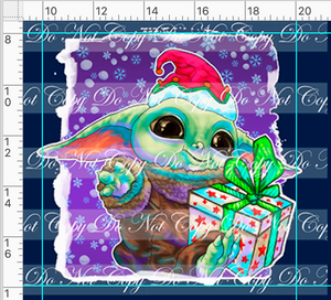 PREORDER R48 - Christmas Sweater - Baby Panel