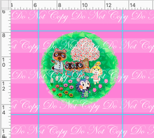 CATALOG R46 - Island Critters - Pink Panel - No Words