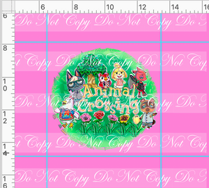 PREORDER R46 - Island Critters - Pink Panel