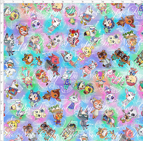 PREORDER R46 - Island Critters - Pastel Tossed - REGULAR SCALE