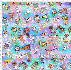 PREORDER R46 - Island Critters - Pastel Tossed - LARGE SCALE
