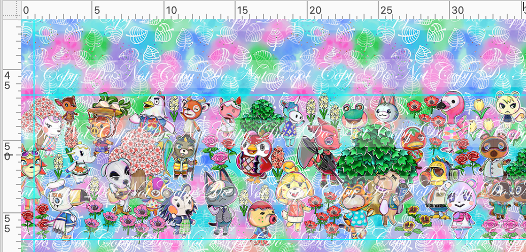CATALOG R46 - Island Critters - Double Border
