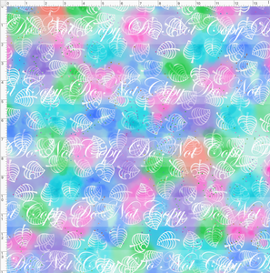 PREORDER R46 - Island Critters - Pastel Background