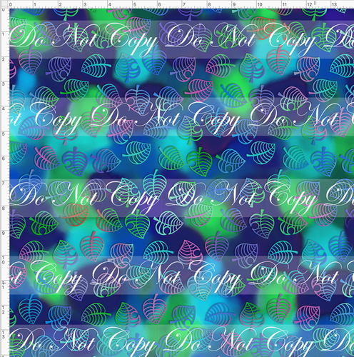 PREORDER R46 - Island Critters - Blue Green Background