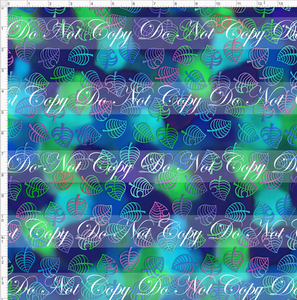 CATALOG PREORDER R46 - Island Critters - Blue Green Background