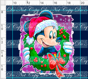 PREORDER R48 - Christmas Sweater - Mickey Panel