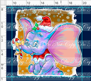 CATALOG - PREORDER R46 - Christmas Sweater - Elephant Panel