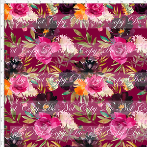 Retail Autumn/Winter Essentials - Autumn Magenta Floral  - REGULAR SCALE