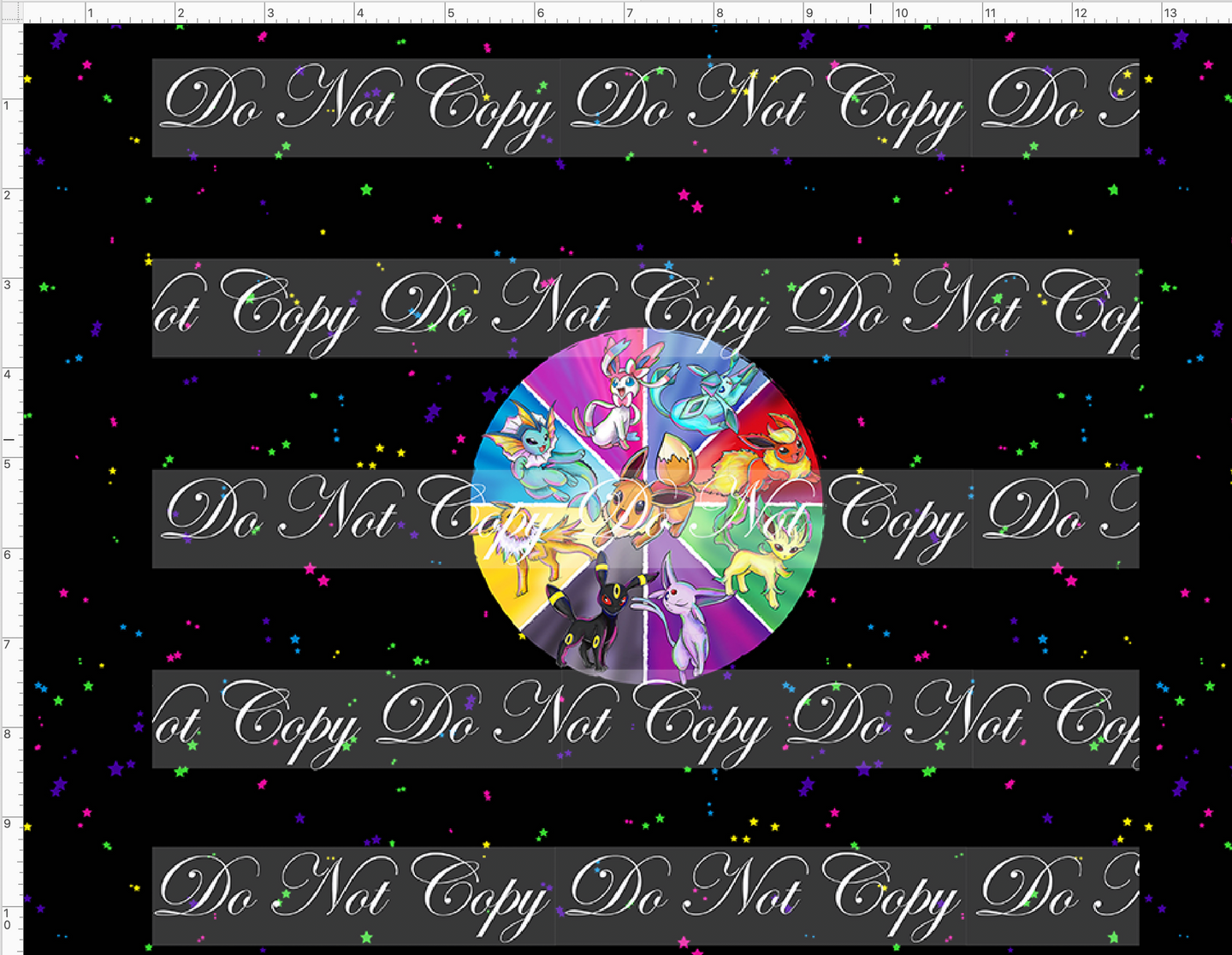 CATALOG - PREORDER R48 - Gotta Catch Em All - Evie Circle- CUP CUT