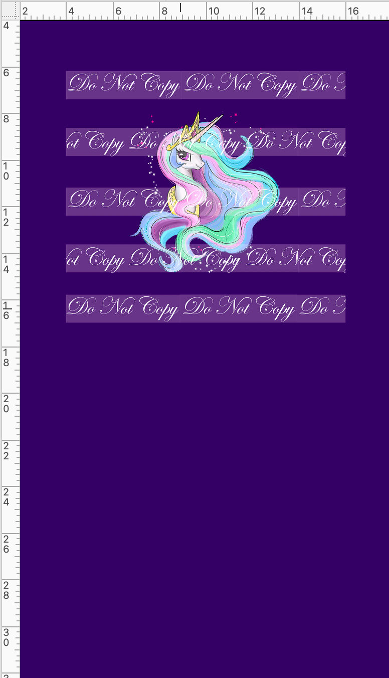 CATALOG R48 - We Got This Together - PANEL - Pastel Princess Pony