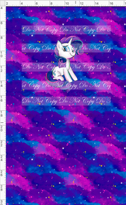 CATALOG R48 - We Got This Together - PANEL - White Pony with Clouds
