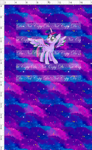 CATALOG R48 - We Got This Together - PANEL - Twilight Pony with Clouds