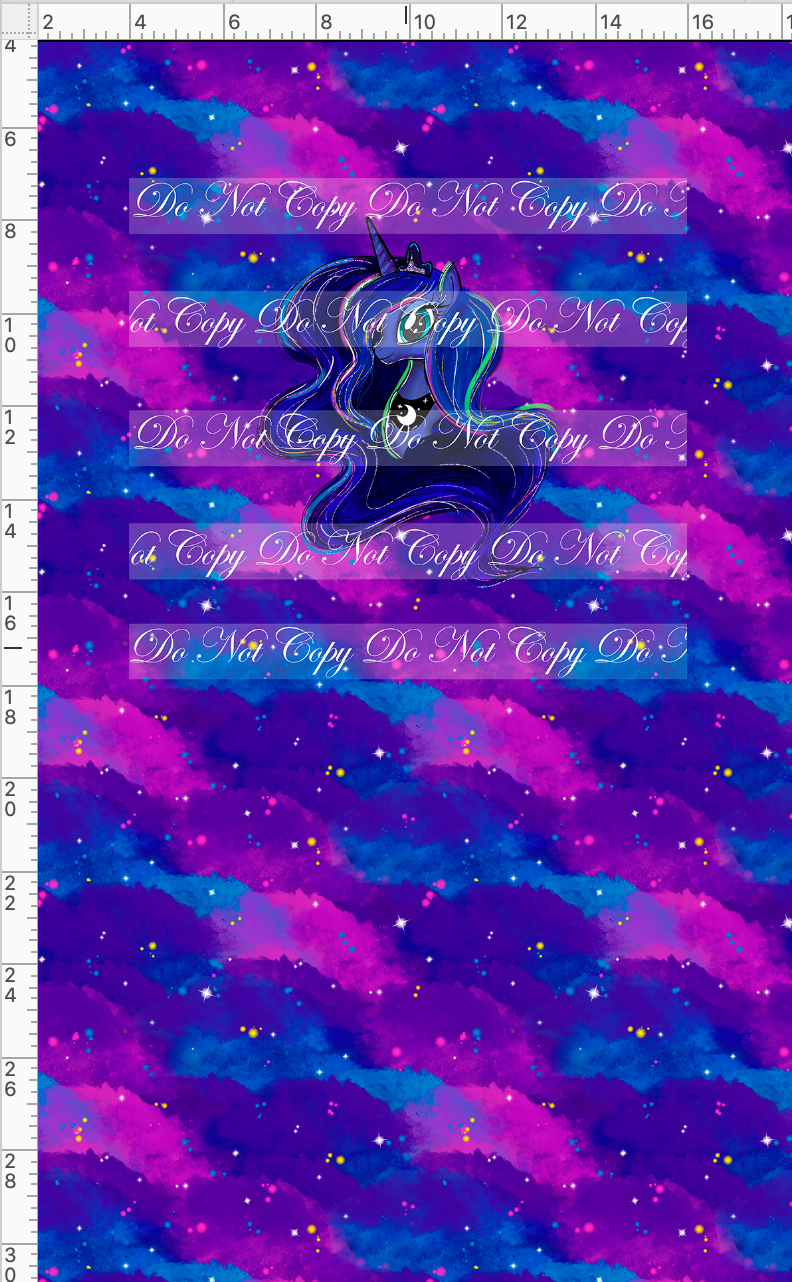 CATALOG - PREORDER R48 - We Got This Together - PANEL - Dark Pony with Clouds