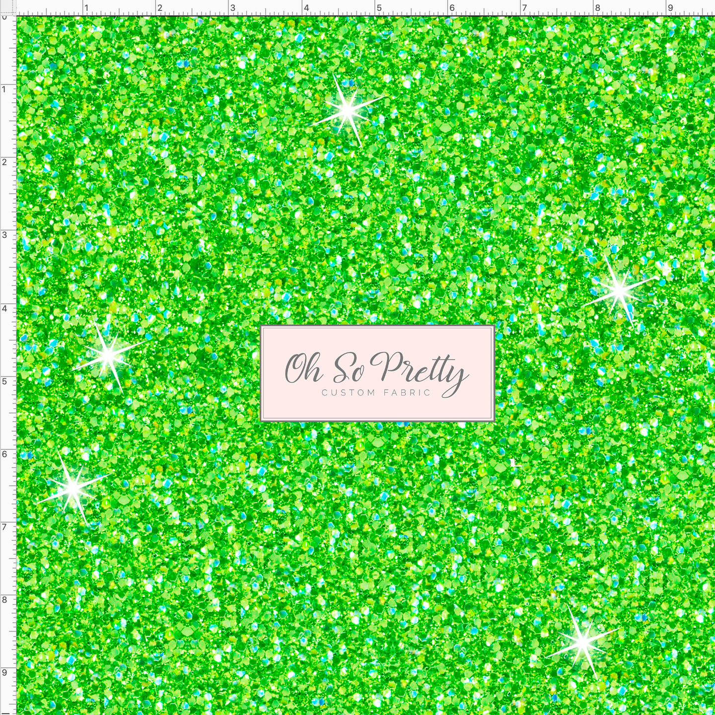 CATALOG - PREORDER R49 - I Do Believe in Fairies - Green Glitter