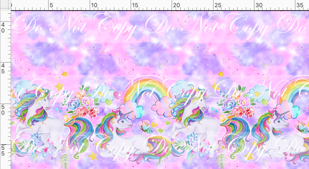 CATALOG R49 - Unicorns - Double Border