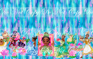 CATALOG - PREORDER R51 - Bayou Princess - Abstract - Double Border