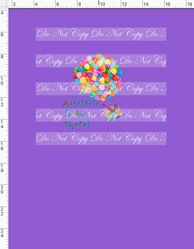 CATALOG R51 - Adventure - Balloons - Solid Purple - PANEL