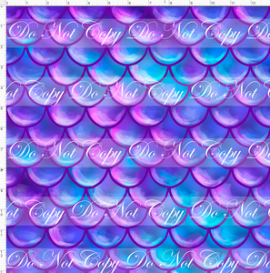 CATALOG - PREORDER R51 - Under the Sea - Scales - Purple - REGULAR SCALE