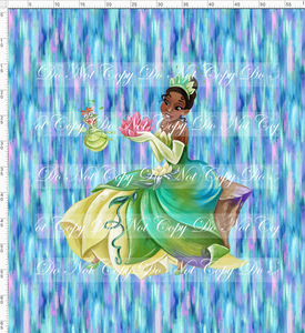 CATALOG - PREORDER R51 - Bayou Princess - Abstract - Adult Blanket Topper
