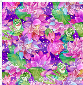 CATALOG R51 - Bayou Princess - Water Lillies and Frog - SMALL SCALE