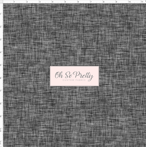 PREORDER - Always Available -  Black Linen Look