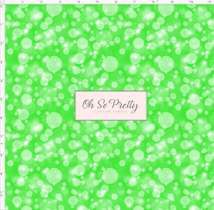 CATALOG - PREORDER R53 - Guppies -  Bubbles - Green