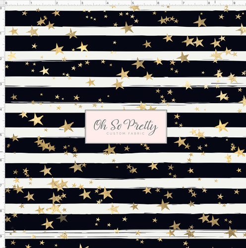 CATALOG - PREORDER R53 - Spotted Puppies - Black and White Stripe with Stars