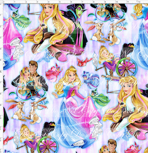 PREORDER R53 - Sleeping Princess - Main - LARGE SCALE