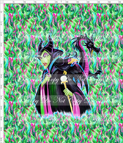 CATALOG - PREORDER R53 - Sleeping Princess - Malificent - Adult Blanket Topper