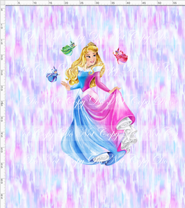 CATALOG - PREORDER R53 - Sleeping Princess - Beauty - Adult Blanket Topper