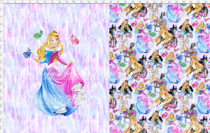 CATALOG - PREORDER R53 - Sleeping Princess - Beauty - Toddler Topper