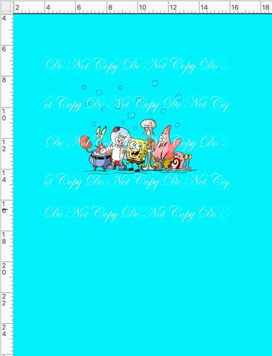 CATALOG - PREORDER R53 - Pineapple Under the Sea - Everyone - PANEL