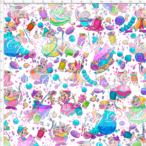 CATALOG PREORDER R54 - A Dream is a Wish - Mice - White - LARGE SCALE
