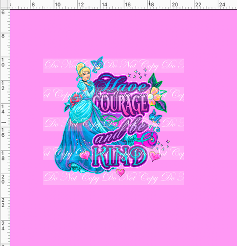 CATALOG PREORDER R54 - A Dream is a Wish - Kind Panel - Pink - ADULT